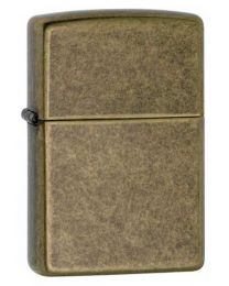 Antique Brass Zippo Lighter 201FB
