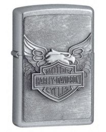 Harley Davidson Street Chrome Iron Eagle Zippo Lighter