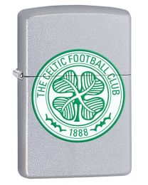 Celtic FC Official Zippo Lighter (Satin Chrome) 205CEL