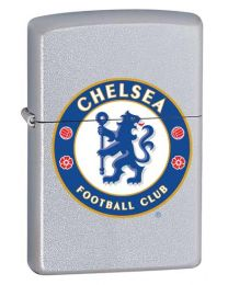 Chelsea FC Official Zippo Lighter (Satin Chrome)