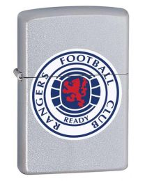 Glasgow Rangers Official Zippo Lighter (Satin Chrome)