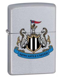 Newcastle United Official Zippo Lighter (Satin Chrome)