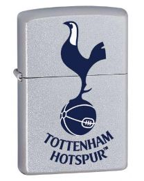 Tottenham Hotspur Official Zippo Lighter (Satin Chrome)