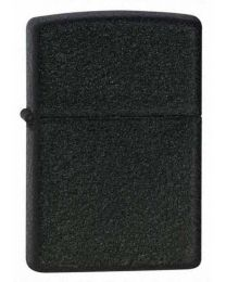 Black Crackle Zippo Lighter 236