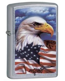 Mazzi Freedom Watch Zippo Lighter 24764