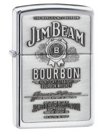 Jim Beam Pewter Emblem Zippo Lighter
