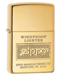 Zippo Windproof Zippo Lighter (Polished Brass) 28145
