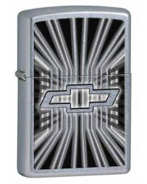Chevy Zippo Lighter - Insignia (Street Chrome) 28260