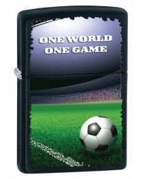 Football in Stadium Zippo Lighter 28301