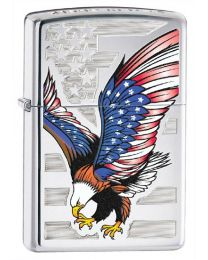 Presidential Replica Eagle Zippo Lighter (Presented to Barack Obama)