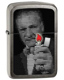 1941 Replica Zippo Lighter - George Blaisdell Flames 28452