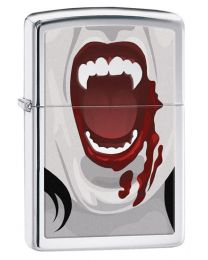 Vampires 2 Zippo lighter in High Polished Chrome 28654