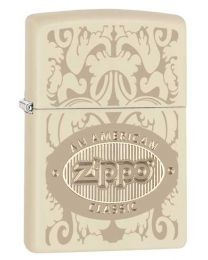 American Classic Zippo Lighter in Matte Cream 28854