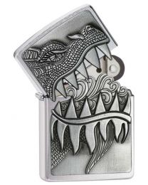 Surprise Fire Breathing Dragon Zippo Lighter 28969