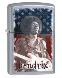 Jimi Hendrix Zippo Lighter in Street Chrome 29175