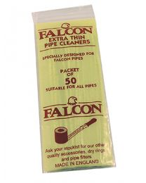 Falcon Pipe Cleaners - Extra Thin - Pack of 50